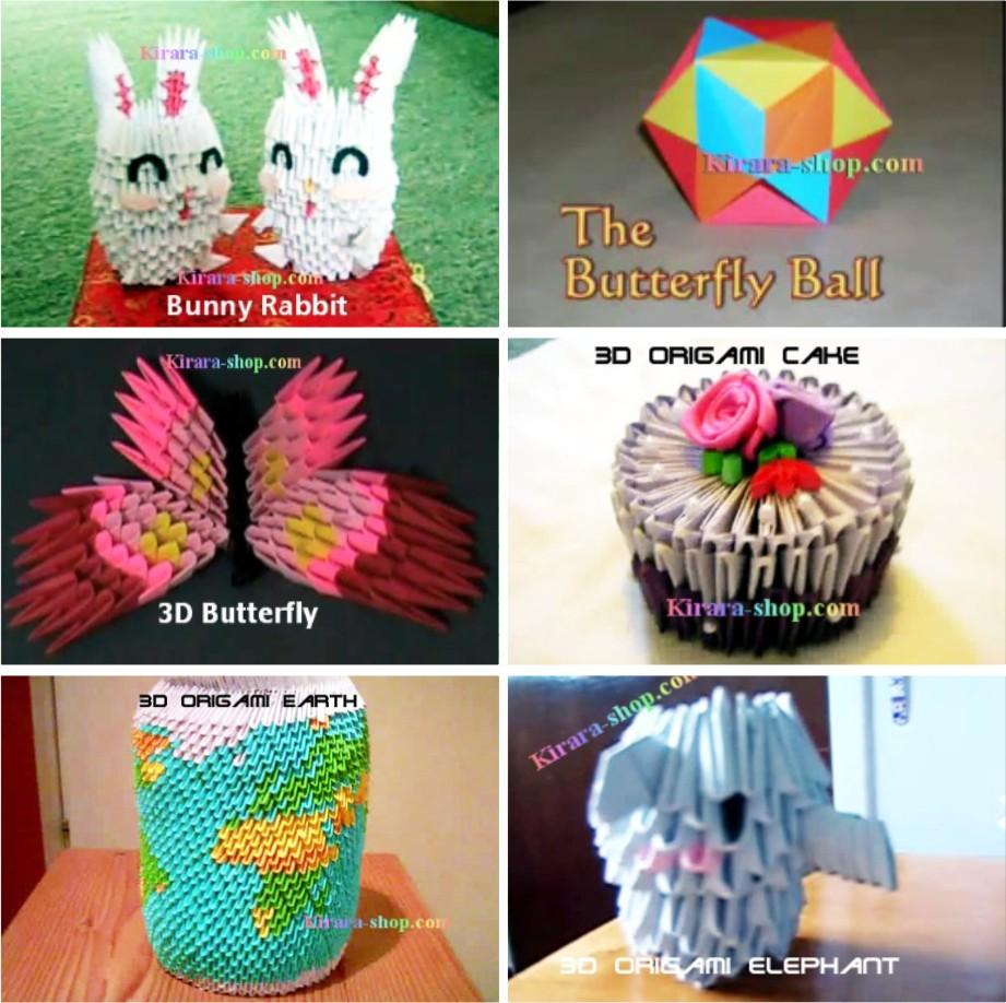 Applique+origami%2c+3d+origami%2c+seni+melipat+kertas%2c+seni