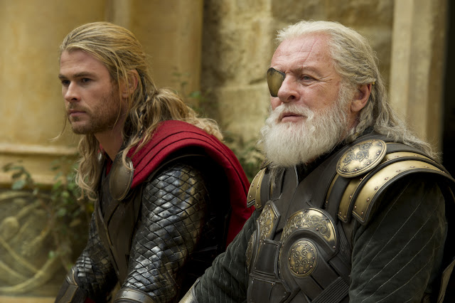 Thor: The Dark World Thor (Chris Hemsworth) & Odin (Sir Anthony Hopkins)