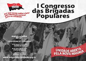 I CONGRESSO DAS BRIGADAS POPULARES