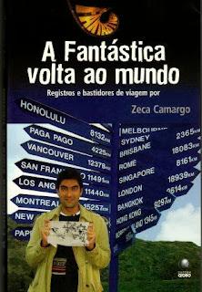 """livro """"A Fantástica Volta ao Mundo"""""""