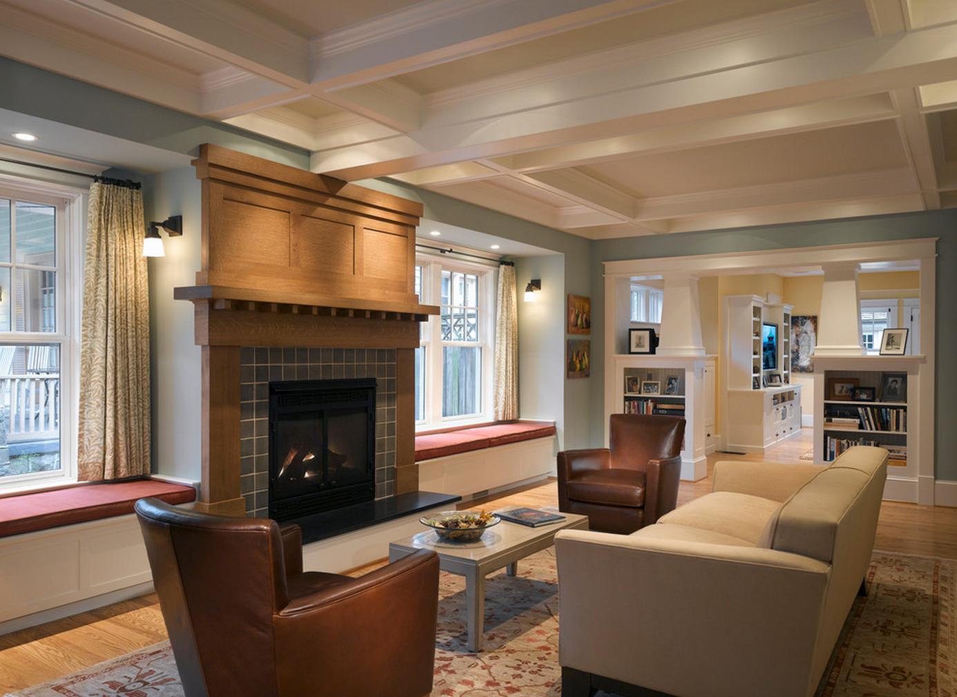Delorme Designs CRAFTSMAN STYLE HOME & WYTHE BLUE HC 143