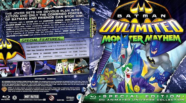 Capa Bluray Batman Unlimited Monster Mayhem