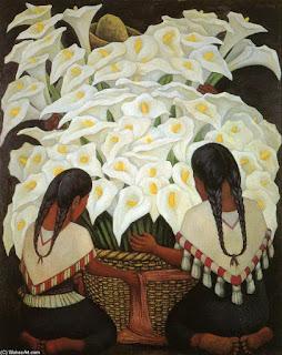 Diego Rivera Mujeres Con Flores
