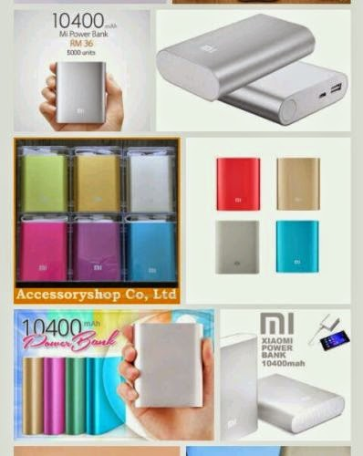 Random Xiaomi Power Bank 10400 mah