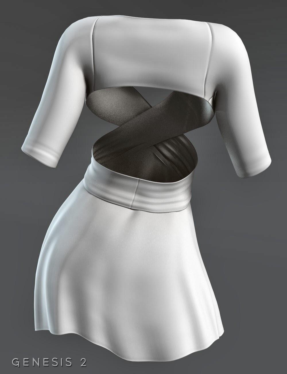 Enveloppez robe pour Genesis 2 Femme