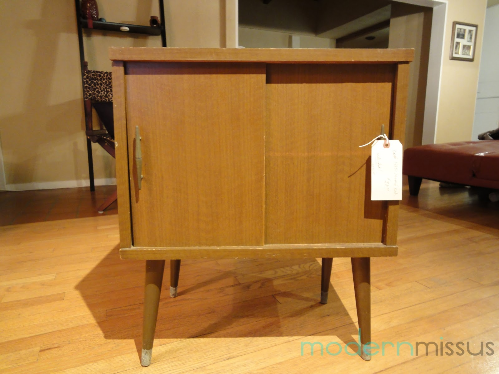 1960s Record Cabinet Modern Missus 1960s Record Cabinet Remix