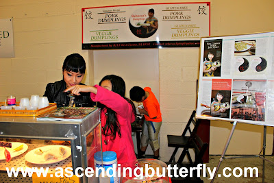 Rebecca's Dumplings, The Artisan Exchange, Indoor Farmers Market, BrandyWine Valley, #BVFoodie