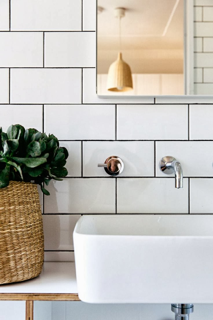 Endearing 40 white bathroom tiles with black grout inspiration white bathroom tiles with black grout white subway tile with black grout home design dailygadgetfo Image collections