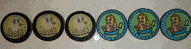 Galletas de Mantequilla basadas en los dibujos de Laurina Paperina