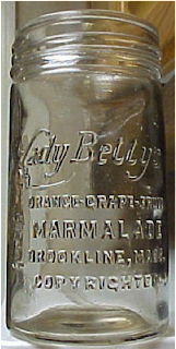 Lady Betty Marmalade jar