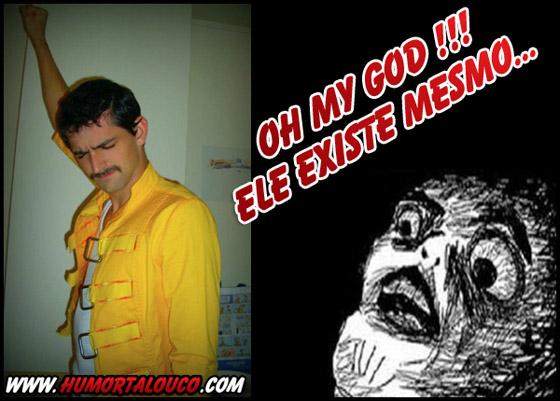 Freddie Mercury Rage - Ele existe mesmo...