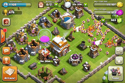 MOD Clash Of Clans 7.65.5 APK For Android