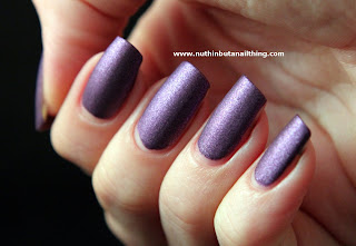 w7 mauve suede effects nail polish