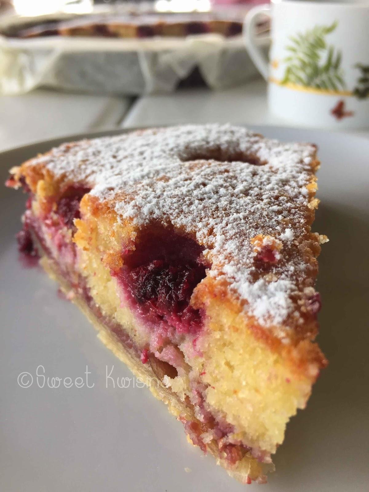 sweet kwisine la tarte crousti moelleuse aux framboises et amandes