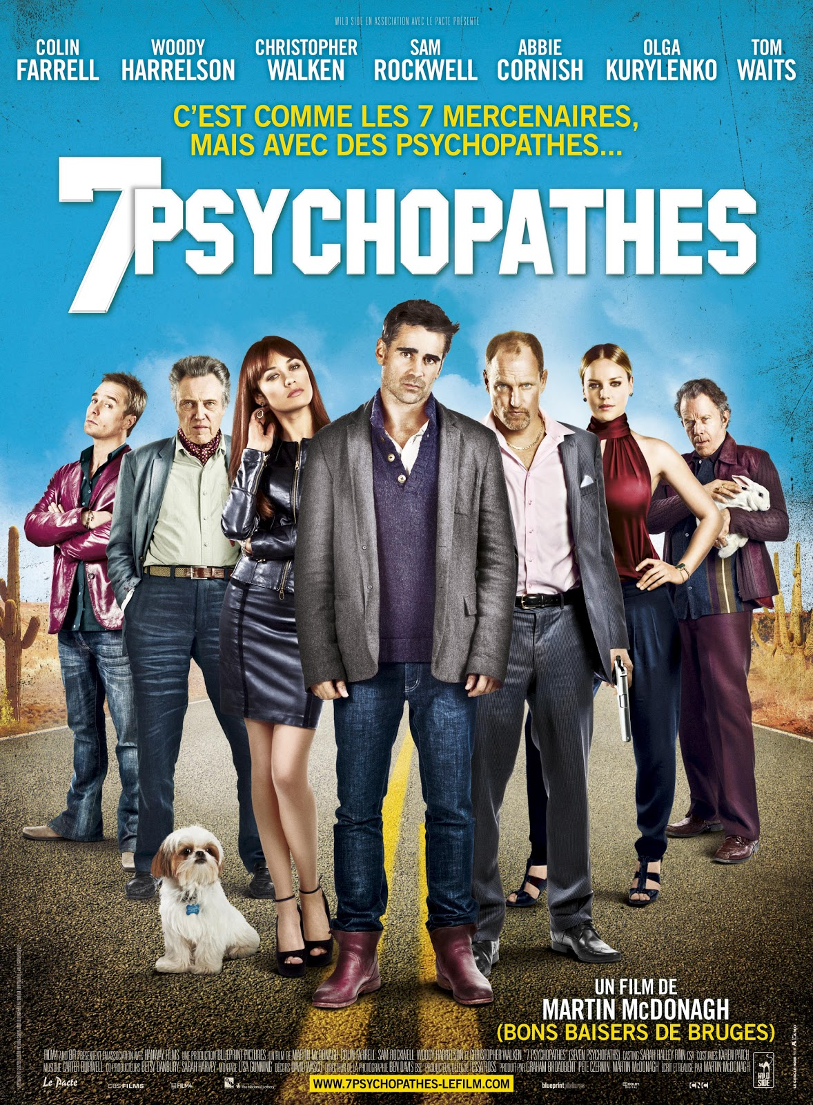 7 Psychopathes streaming vf