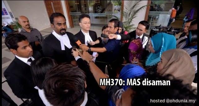 2 Anak Lelaki Penumpang Pesawat MH370, Fail Saman Terhadap MAS