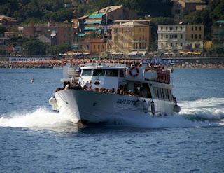 Ferry boat to Portovenere & Cinque Terre