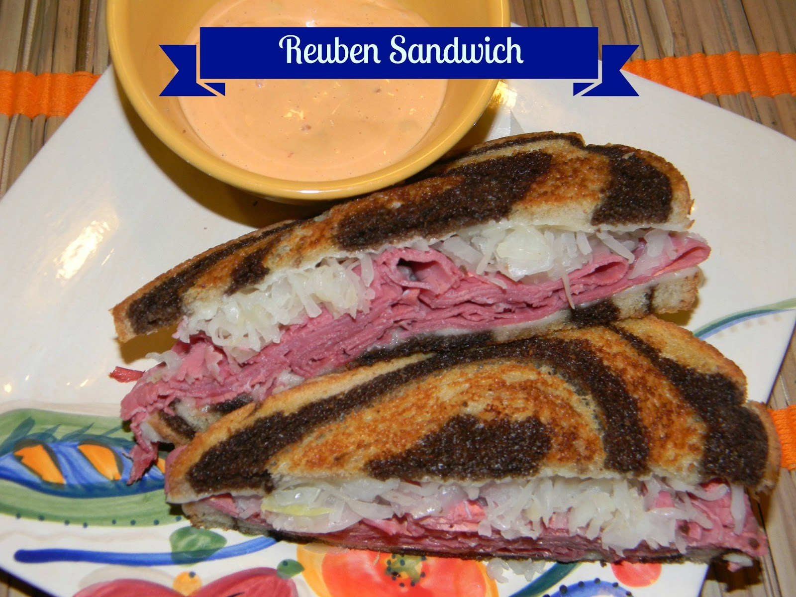 reuben sandwich this is what i used to make 6 reuben sandwiches 12 ...
