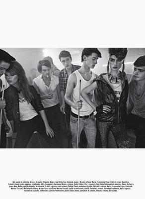Tali Lennox for Vogue Italia by Phol Poynter