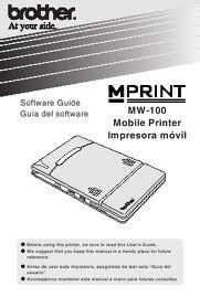 Brother MPrint MW-100 Mobile Printer