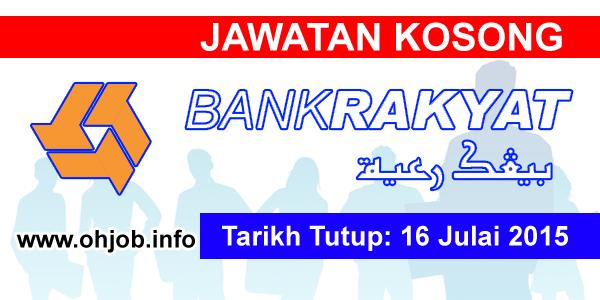 Jawatan Kerja Kosong Koperasi Kakitangan Bank Rakyat Berhad logo www.ohjob.info julai 2015