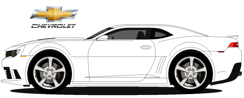 Chevrolet Camaro Ss 2014 Dcp Design