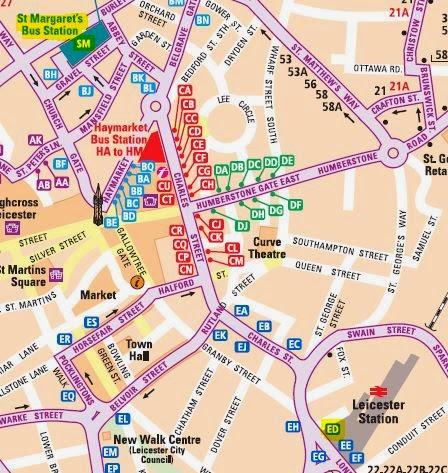 Great British Bus Routescom X7 Leicester Milton Keynes