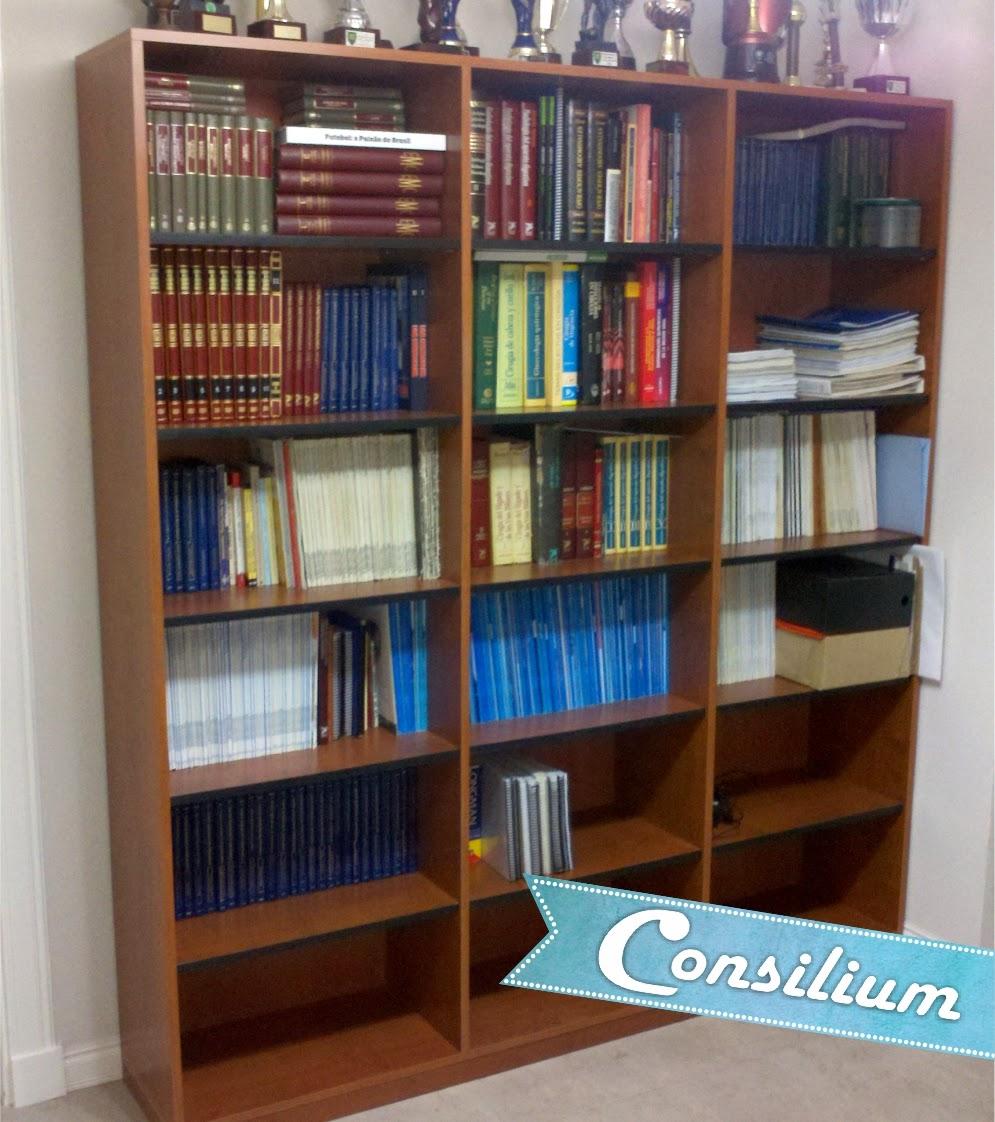 Consilium muebles modernos bibliotecas organizadores for Bibliotecas muebles modernos