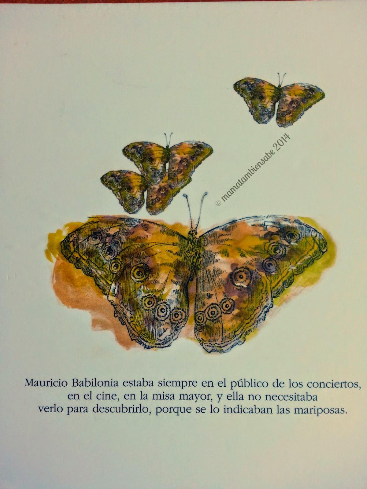 Las mariposas amarillas de Mauricio Babilonia