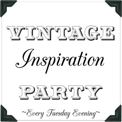 Vintage Inspiration Party button