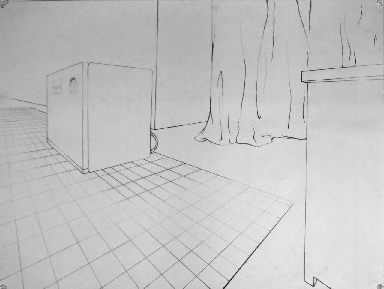 Basic Drawing 1 Examples Of 2 Point Interiors