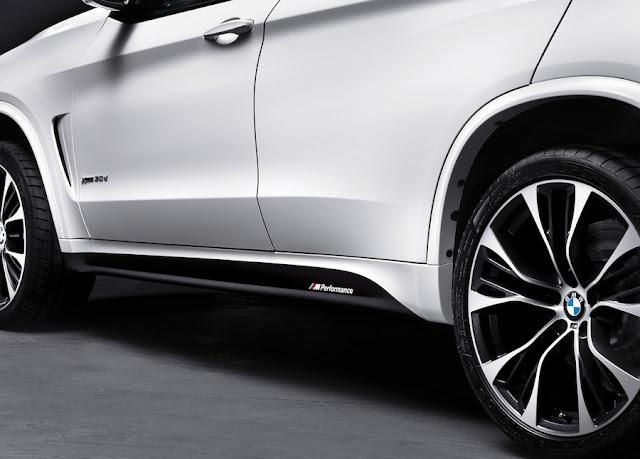 BMW X5のMパフォーマンスパーツ