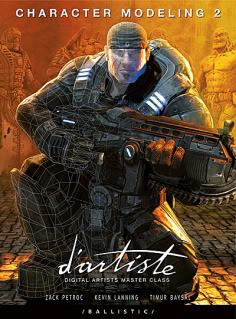 d'artiste Character Modeling 2 Ballistic Publishing