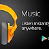 The launch of Google Play Music All Access