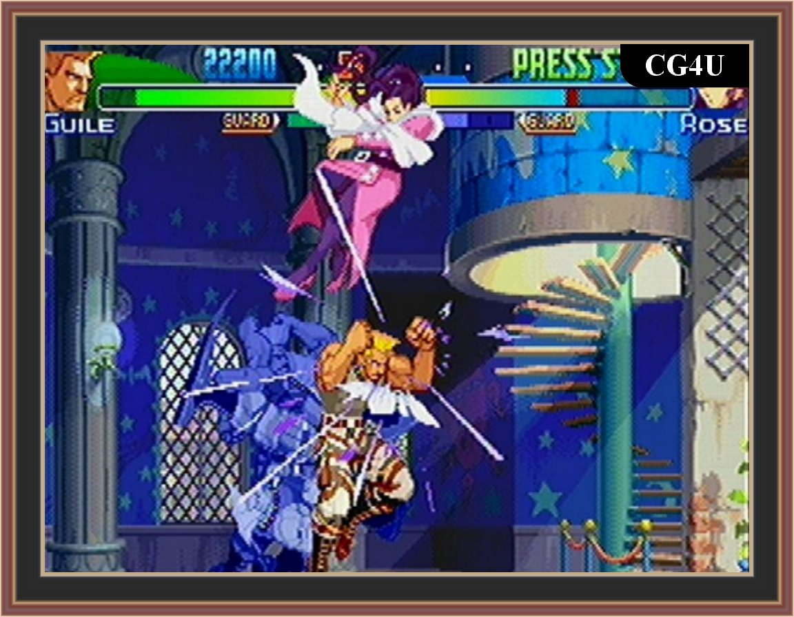 Street Fighter Alpha 3 Screenshots