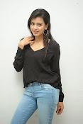 Hebah Patel glam pics in black top-thumbnail-10