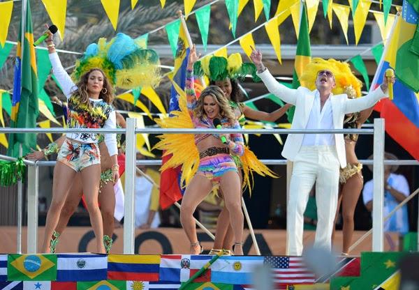 We are One Pitbull J. Lopez  la canzone di Brasile 2014
