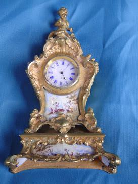 Reloj Miniatura Viena S.XIX