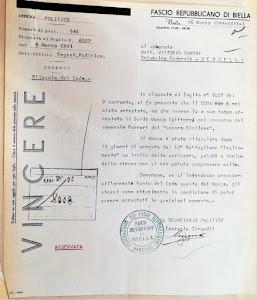 Una lettera che racchiude al suo interno una serie di crudeltà della guerra partigiana
