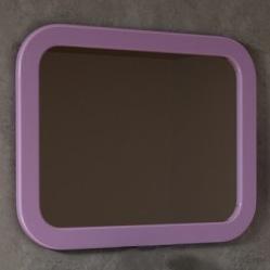espejo baño redondo violeta