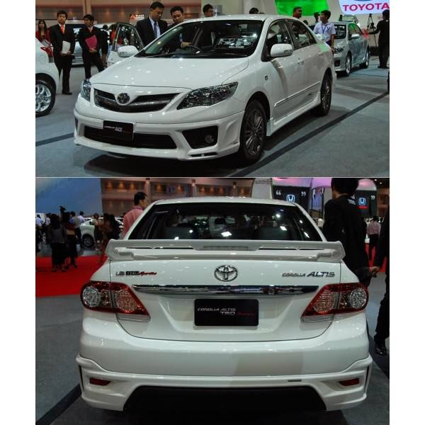 Body Kit Toyota Altis TRD 2011-2013