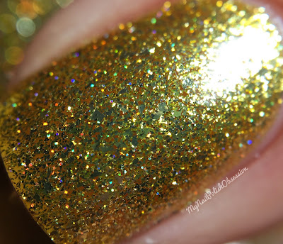 KBShimmer Birthstone Collection; Citrine