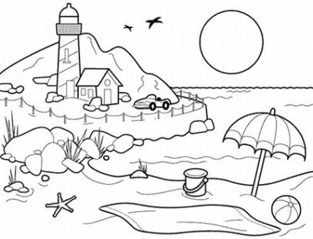 Ocean Coloring Pages on Free Ocean Coloring Pages    Disney Coloring Pages