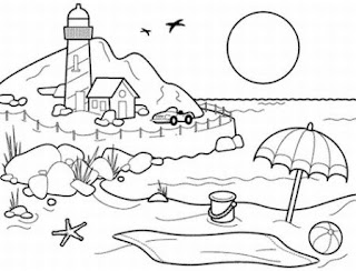 ocean coloring pages, free coloring pages