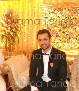 atif aslam and sara wedding pics enagement mehndi and walima pics