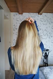 Meine Haare ohne silikone!
