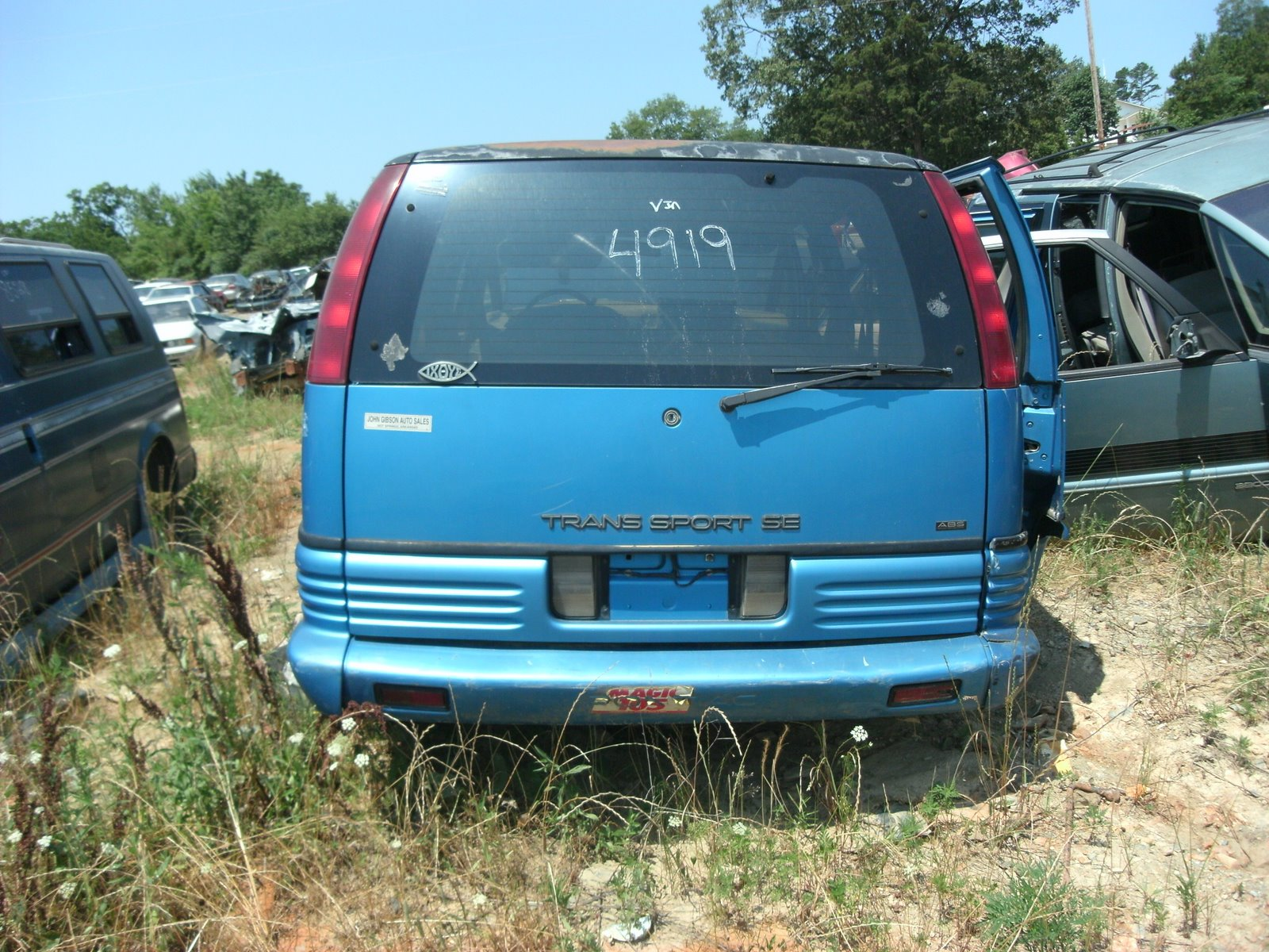 Gedc on 1991 Dodge Dakota Salvage