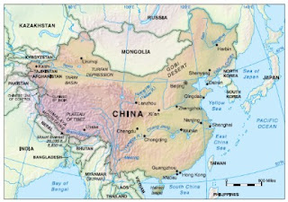 Peta Negara Cina