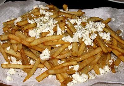 ... Greek Meat Patties with Tzaziki Sauce and Feta Oregano French Fries