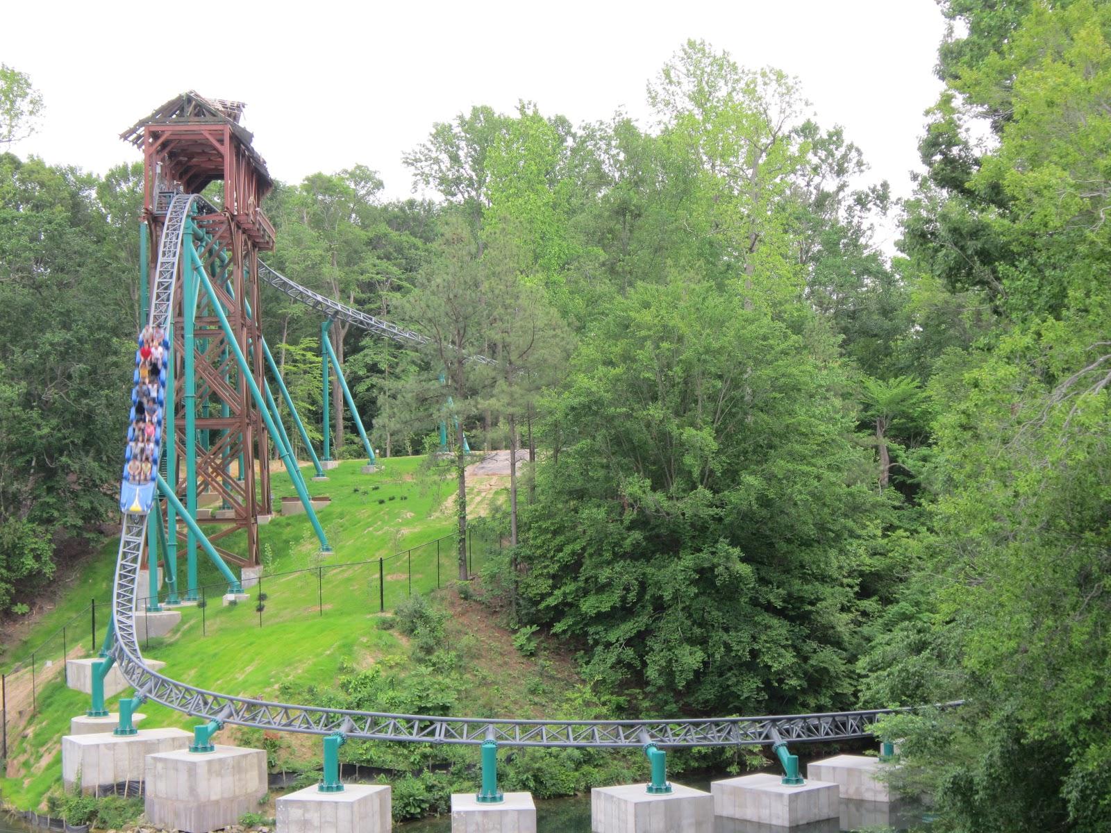 Verbolten Roller Coaster Busch Gardens